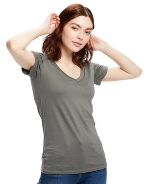 US Blanks Ladies' Made in USA Short-Sleeve V-Neck T-Shirt - US120