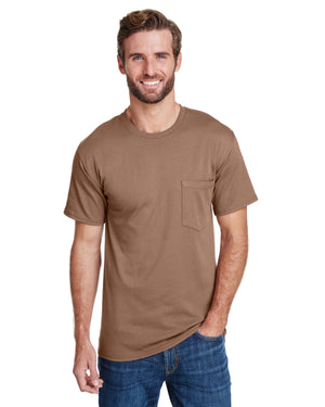 Hanes Adult Workwear Pocket T-Shirt - W110