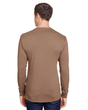 Hanes Adult Workwear Long-Sleeve Pocket T-Shirt - W120