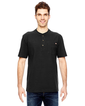 Dickies Men's 6.75 oz. Heavyweight Work Henley - WS451
