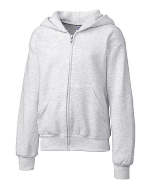 Clique Basics Youth Fleece F/Z Hoodie - YRK03001