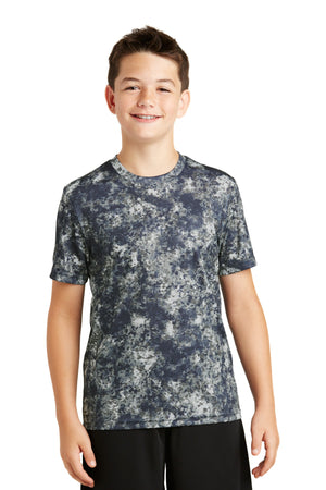 Sport-Tek Youth Mineral Freeze Tee. YST330