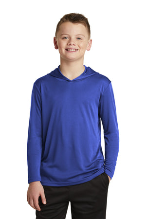 Sport-Tek  Youth PosiCharge  Competitor  Hooded Pullover. YST358