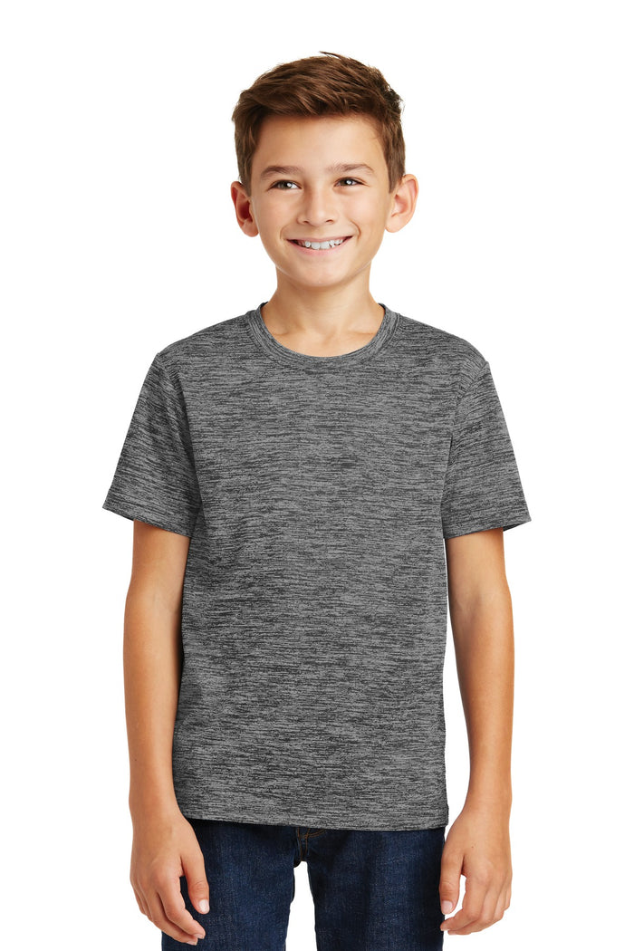 Sport-Tek Youth PosiCharge Electric Heather Tee. YST390