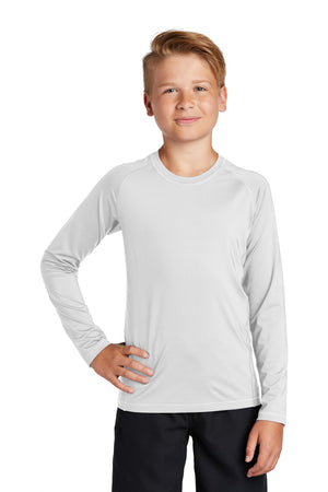 Sport-Tek  Youth Long Sleeve Rashguard Tee. YST470LS