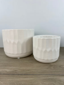 Denmark Matte White Pot