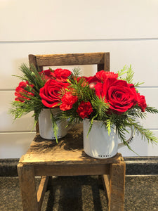 Cup of Christmas Cheer Arrangement