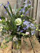 Load image into Gallery viewer, Lavender Blue Arrangement