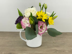 Enamel Mug Arrangement
