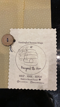 Load image into Gallery viewer, Beeyond the Hive Snack-Size Wax Food Wrap