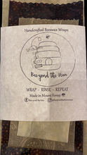 Load image into Gallery viewer, Beeyond the Hive Wax Food Wrap Pack