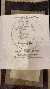 Beeyond the Hive Wax Food Wrap Pack