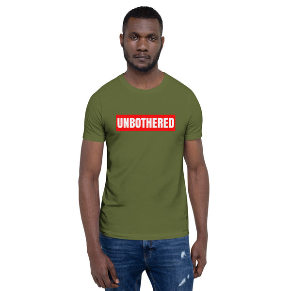 UNBOTHERED Short-Sleeve Unisex T-Shirt