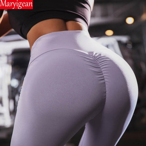 Bodybuilding | Slim Ruched Leggings |  Gray