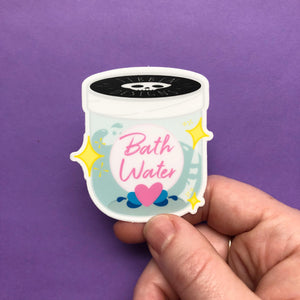 Bath Water Sticker