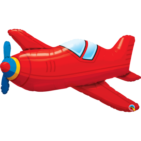 Inflated Red Vintage Airplane - House Of Party