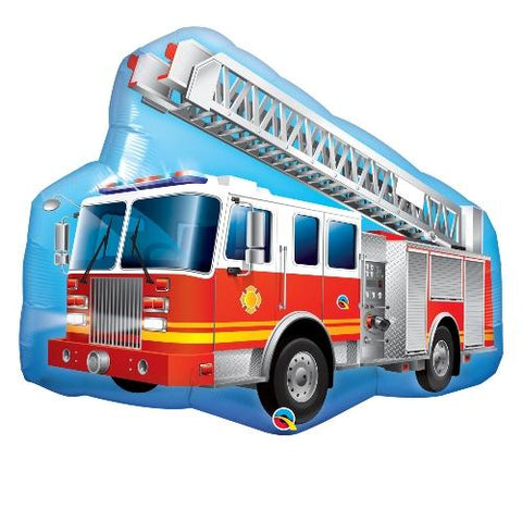Inflated Red Fire Truck - House Of Party