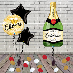 Inflated Bubbly Cheers Package - House Of Party