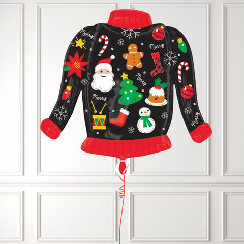 Inflated Ugly Christmas Jumper