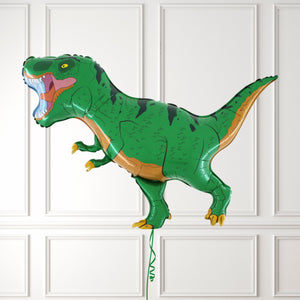 Inflated Green T-Rex Dinosaur