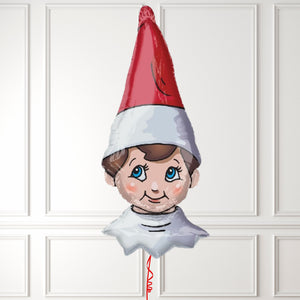 Inflated Elf On The Shelf