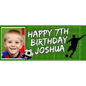 Personalised Football Banner - House Of Party