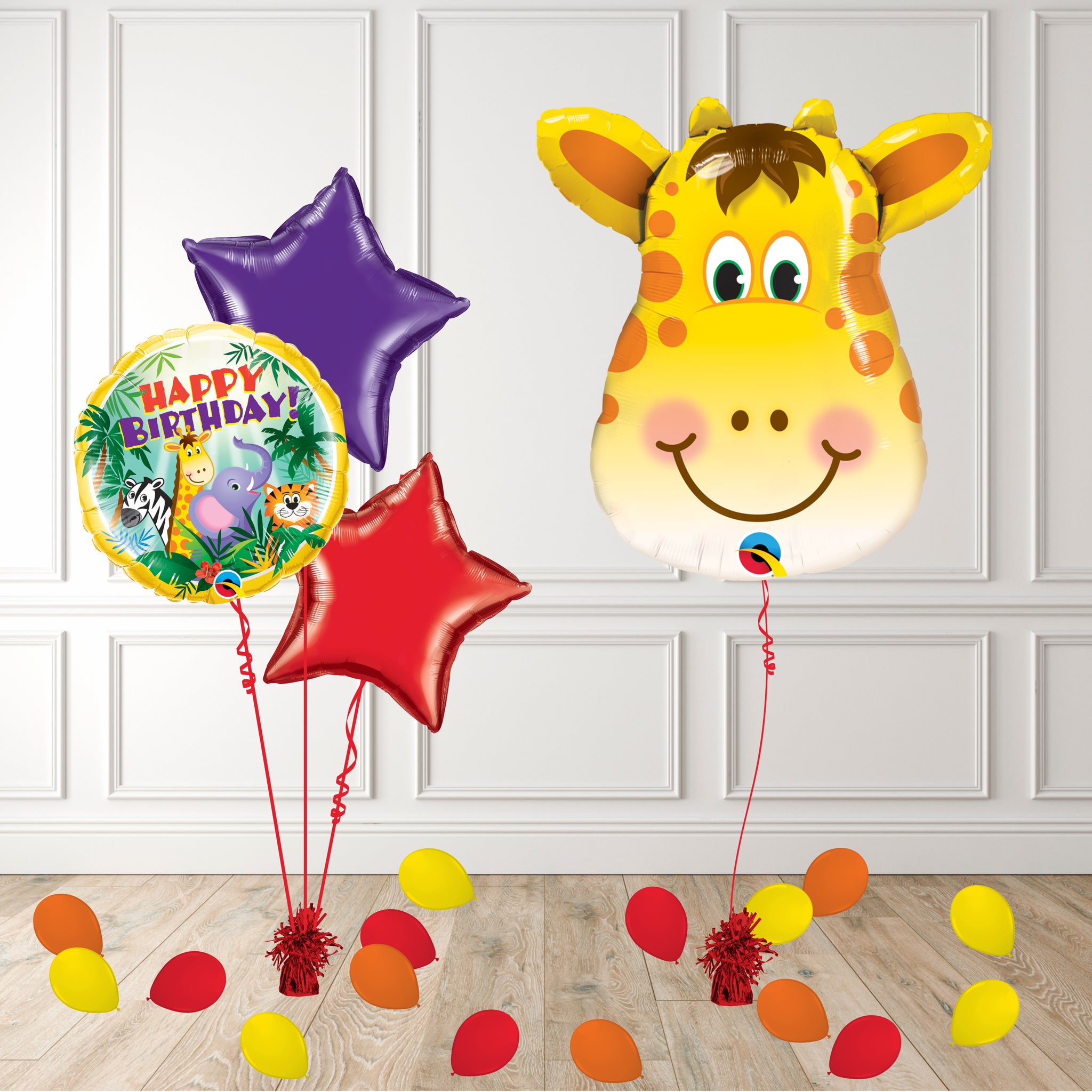 Inflated Giraffe Package - House Of Party