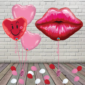 Inflated Kissing Lips Package - House Of Party