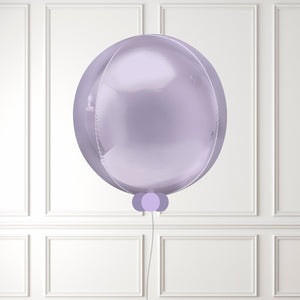 Inflated Lilac Mini Balloon Bubble