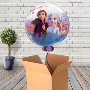 Inflated Frozen 2 Bubble Balloon - House Of Party