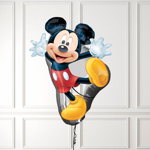 Inflated Mickey Mouse Balloon