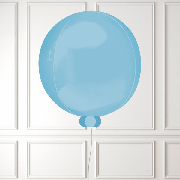 Inflated Pale Blue Orbz