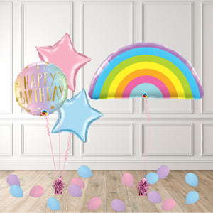 Inflated Pastel Rainbow Package