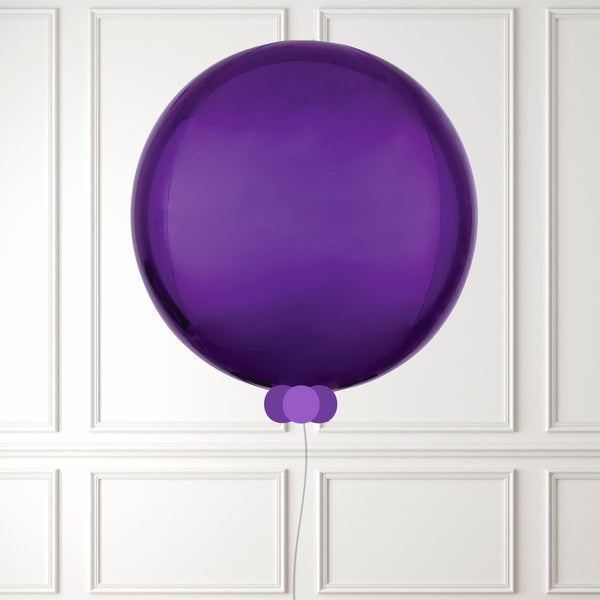 Inflated Purple Orbz