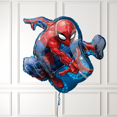 Inflated Spider Man Balloon