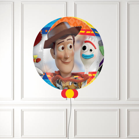 Inflated Toy Story 4 Orbz Balloon