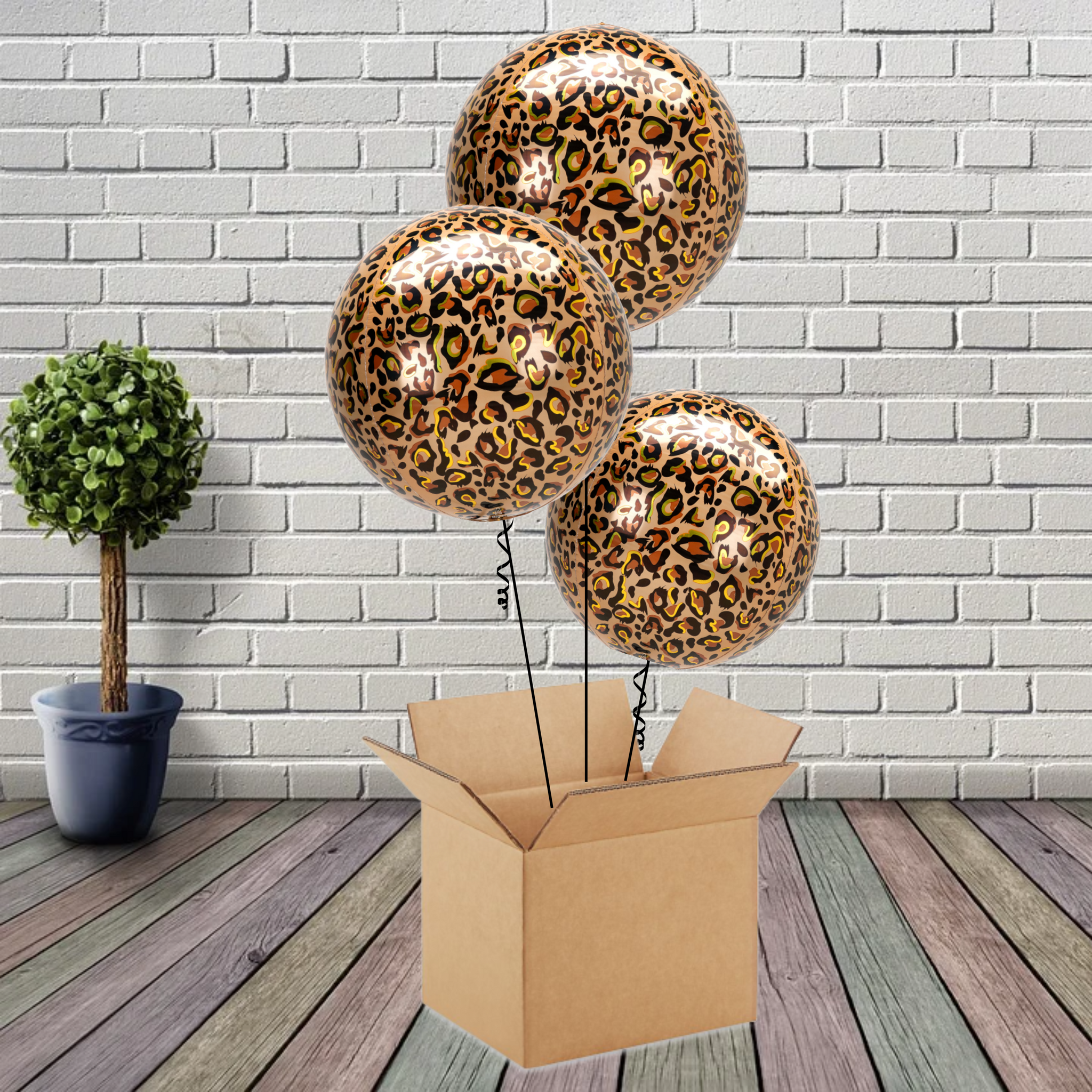 Inflated Animalz Leopard Print Bouquet - House Of Party