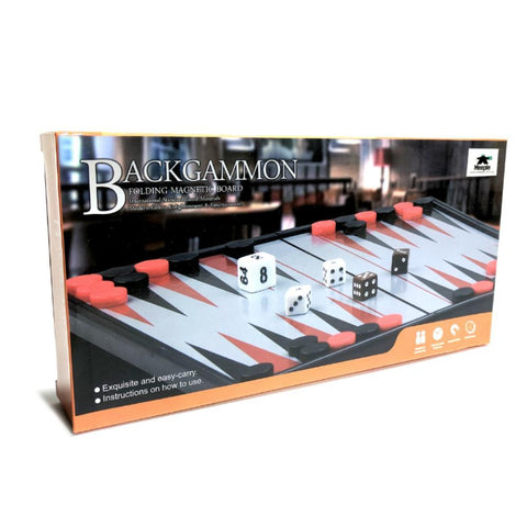 Backgammon - Folding Magnetic Board 25cm