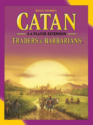 Catan - Traders & Barbarians 5-6 Player Extension (5th Ed)
