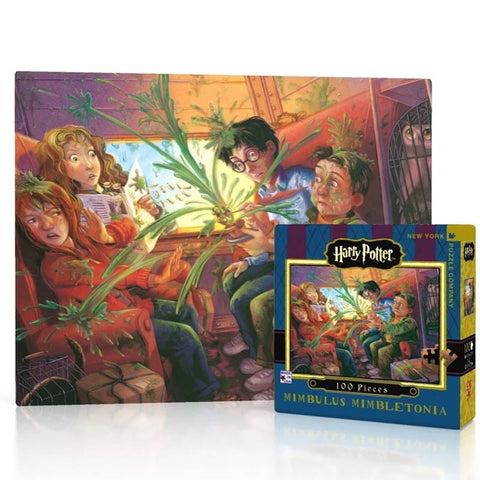 Harry Potter Puzzle - Mimbulus Mimbletonia Mini (100pc)