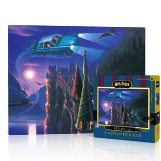 Harry Potter Puzzle - The Enchanted Car Mini (100pc)
