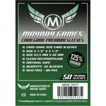 Mayday - Premium Card Game Sleeves (Pack of 50) - 63.5 MM X 88 MM (Dark Green)