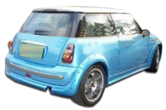 2002-2008 Mini Cooper R50 R52 Duraflex MS-R Rear Lip Under Spoiler Air Dam - 1 Piece (S)