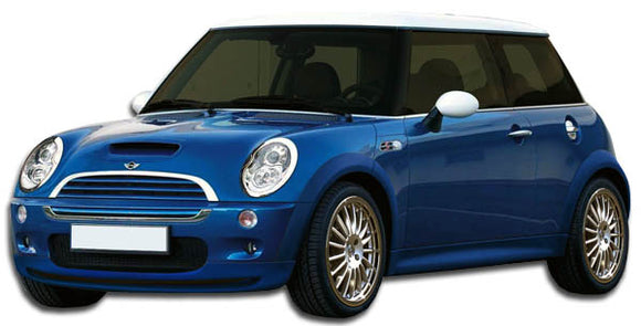 2002-2006 Mini Cooper R50 Duraflex Type H Front Lip Under Spoiler Air Dam - 1 Piece (S)