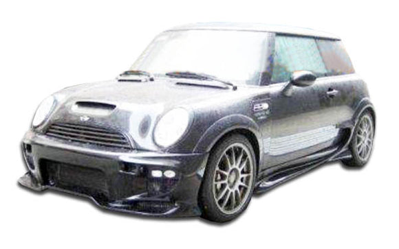 2002-2008 Mini Cooper / Cooper S R50 R52 R53  Duraflex Vader Side Skirts Rocker Panels - 2 Piece