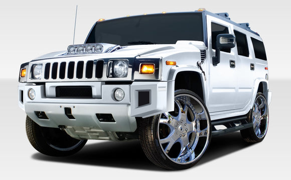 2003-2009 Hummer H2 Duraflex BR-N Body Kit - 9 Piece
