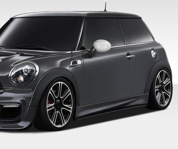 2007-2015 Mini Cooper R56 R57 R58 R59 Duraflex DL-R Side Skirt Splitters - 2 Piece (S)