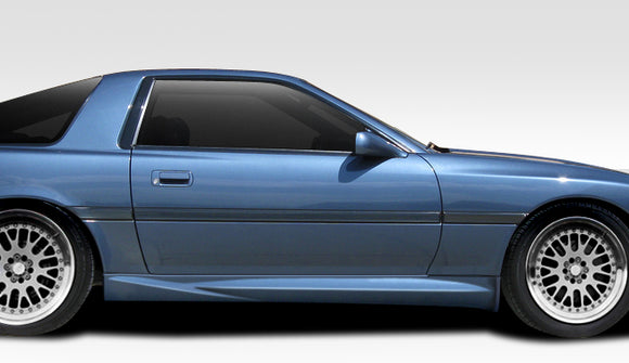 1986-1992 Toyota Supra Duraflex AB-F Side Skirt Rocker Panels - 2 Piece