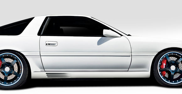 1986-1992 Toyota Supra Duraflex Spec R Side Skirt Rocker Panels - 2 Piece