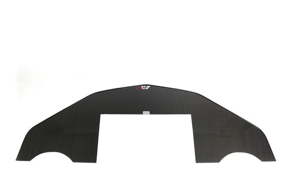 Carbon Fiber Wind Splitter With Rods, 2016-2018 Chevrolet Camaro SS